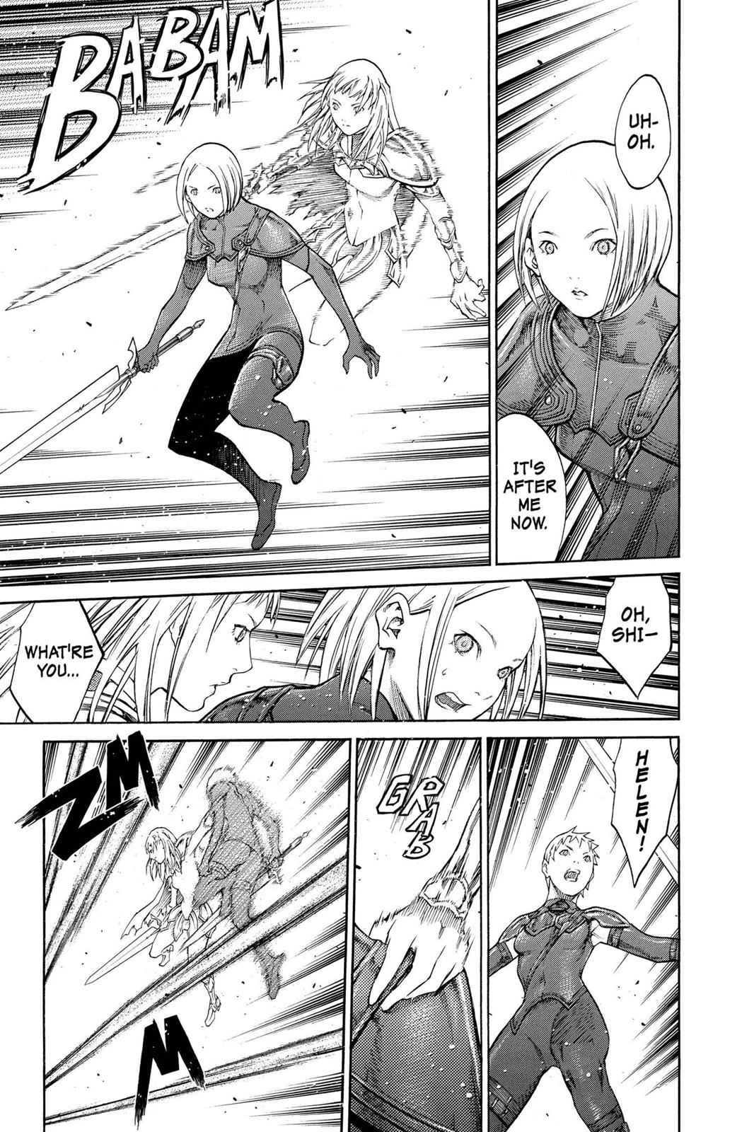 Claymore Chapter 85 Page 21