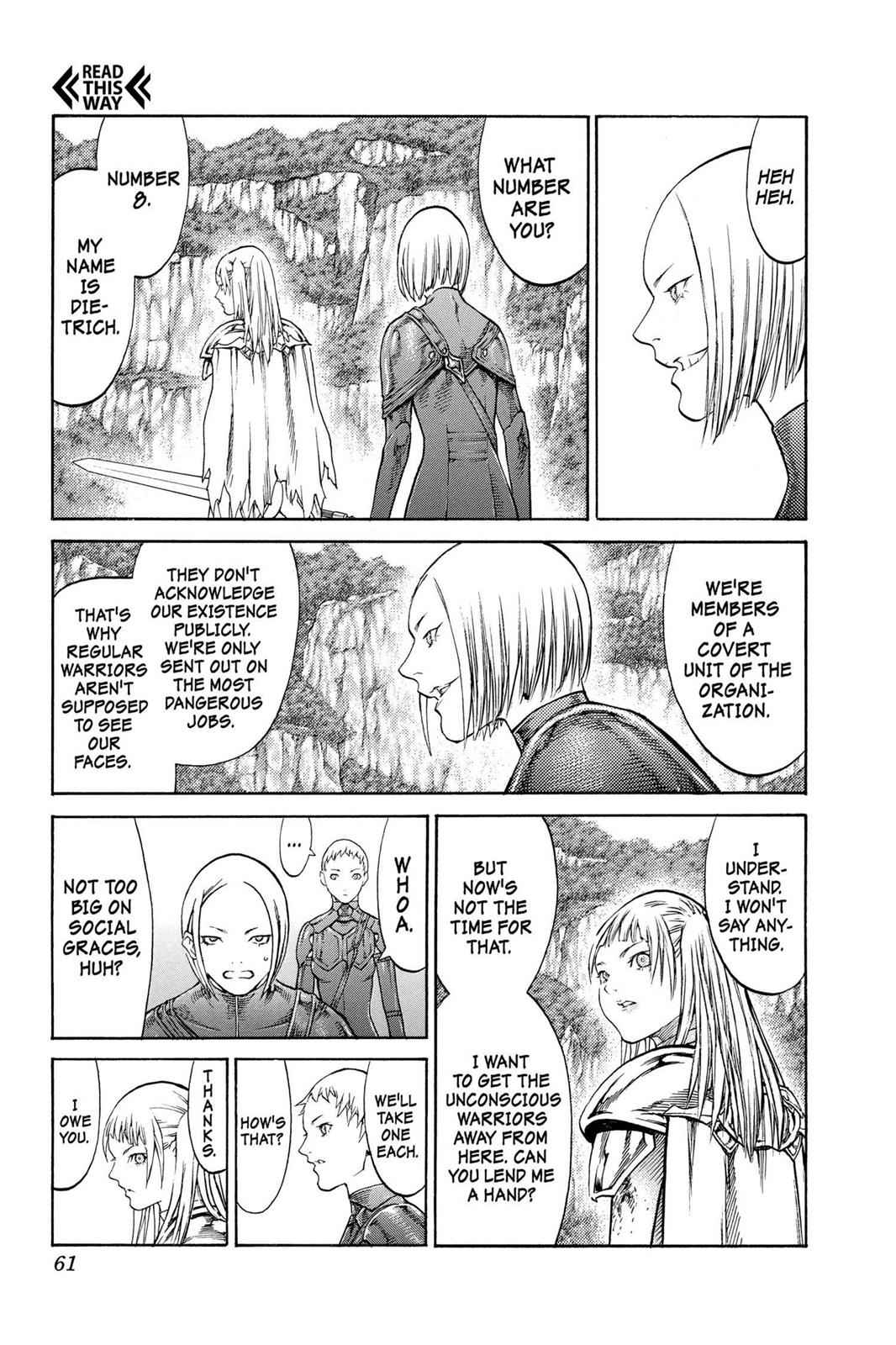 Claymore Chapter 85 Page 23