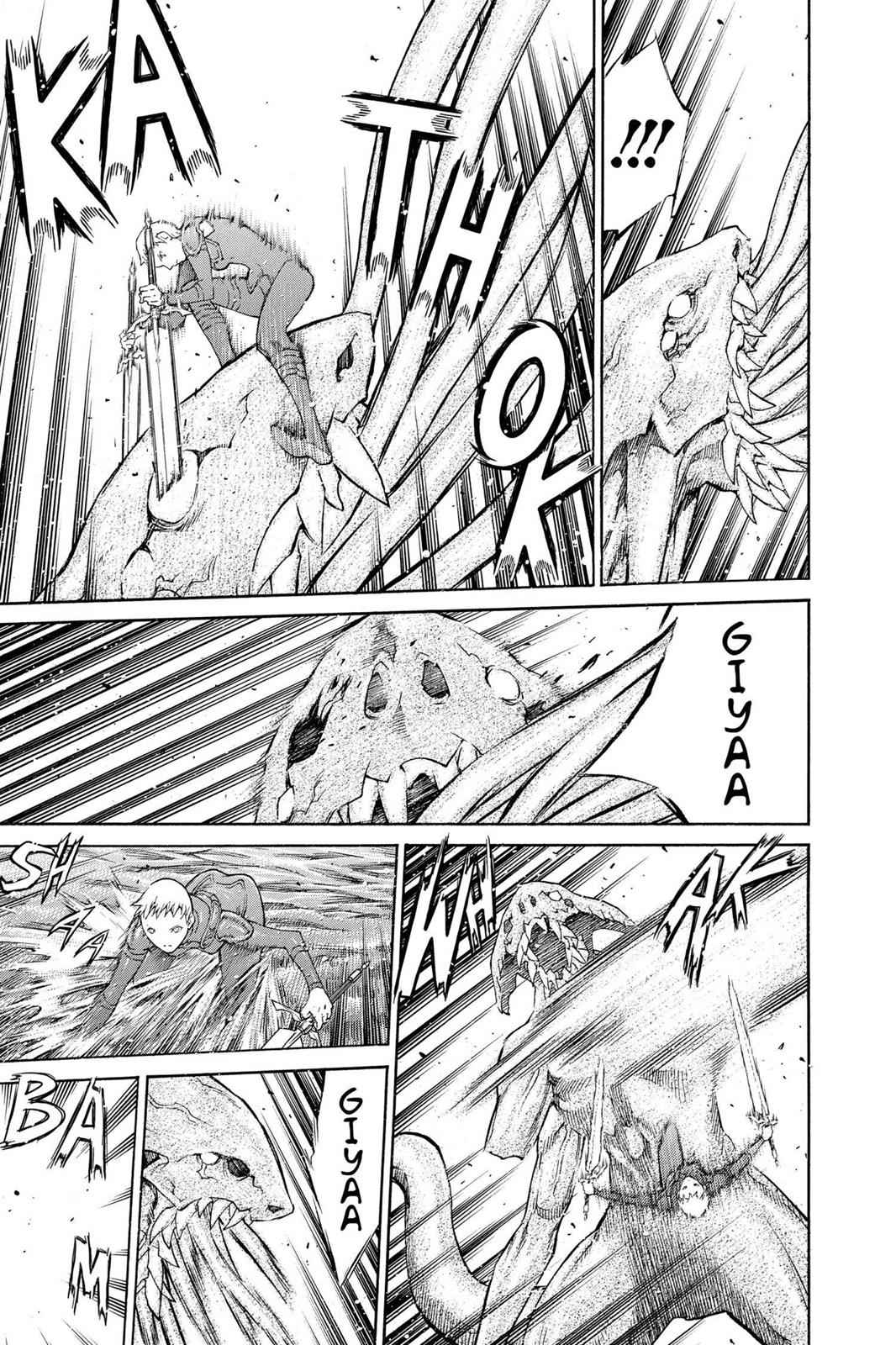 Claymore Chapter 85 Page 27