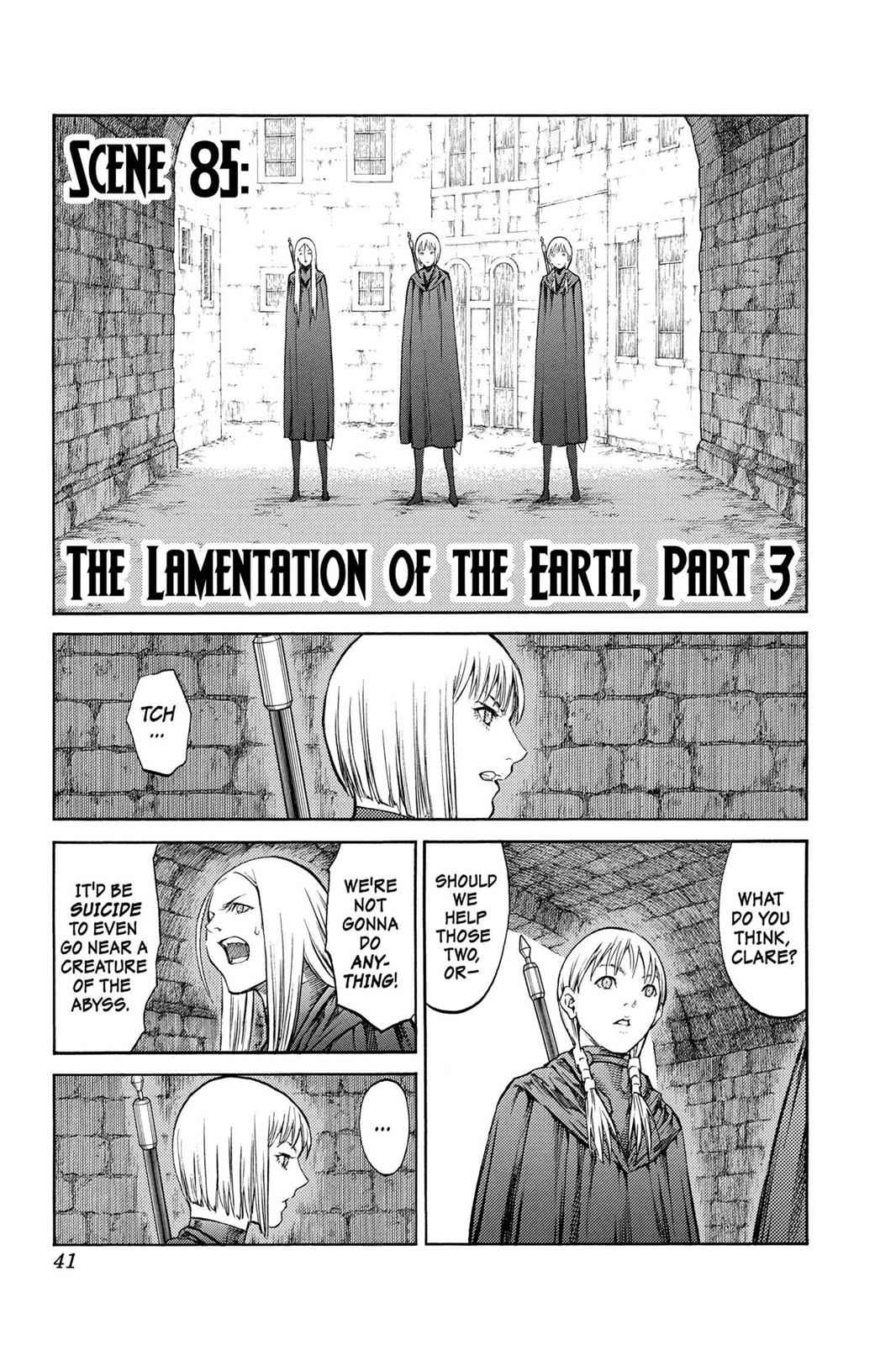 Claymore Chapter 85 Page 3