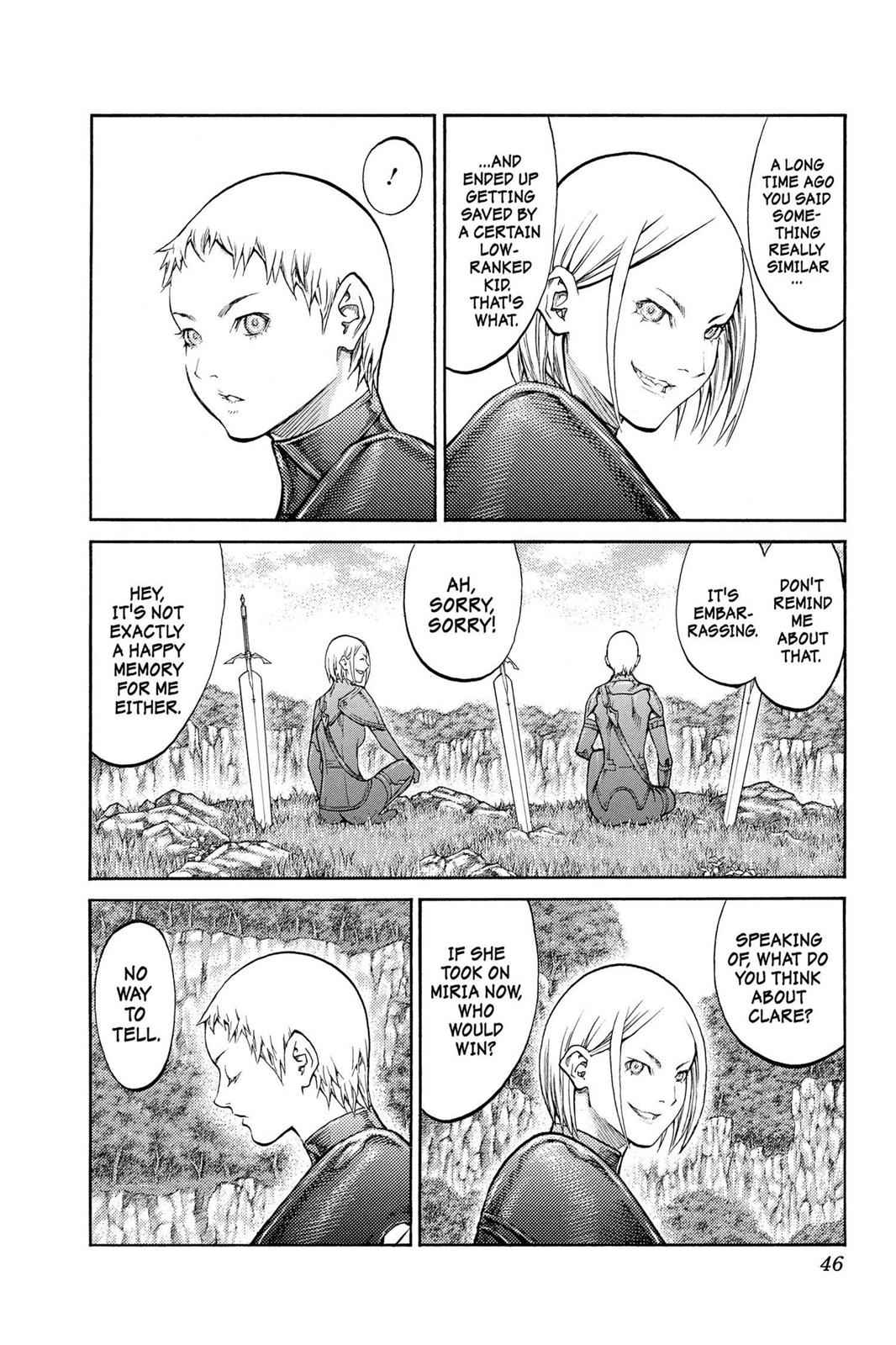 Claymore Chapter 85 Page 8