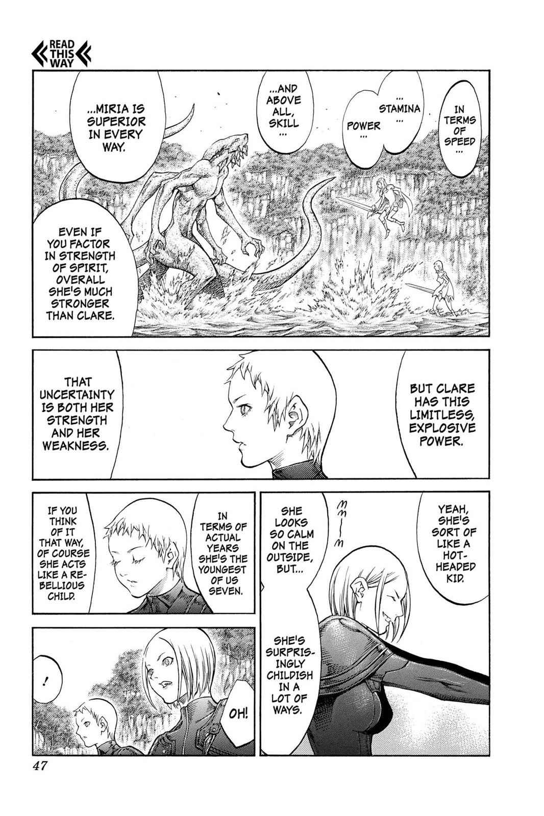 Claymore Chapter 85 Page 9