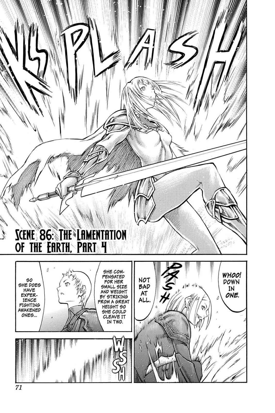 Claymore Chapter 86 Page 1