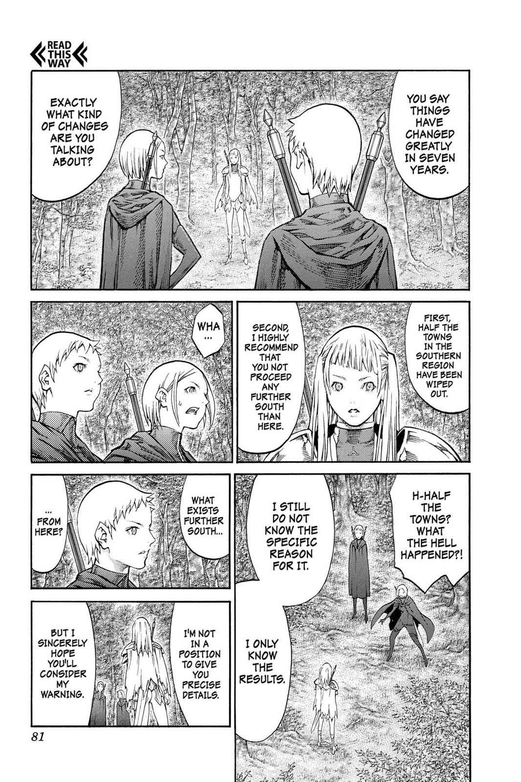 Claymore Chapter 86 Page 11