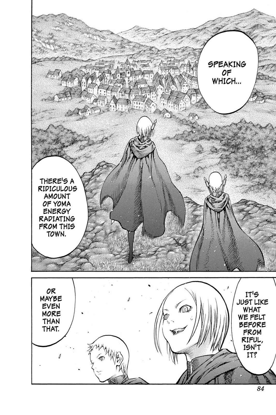 Claymore Chapter 86 Page 14