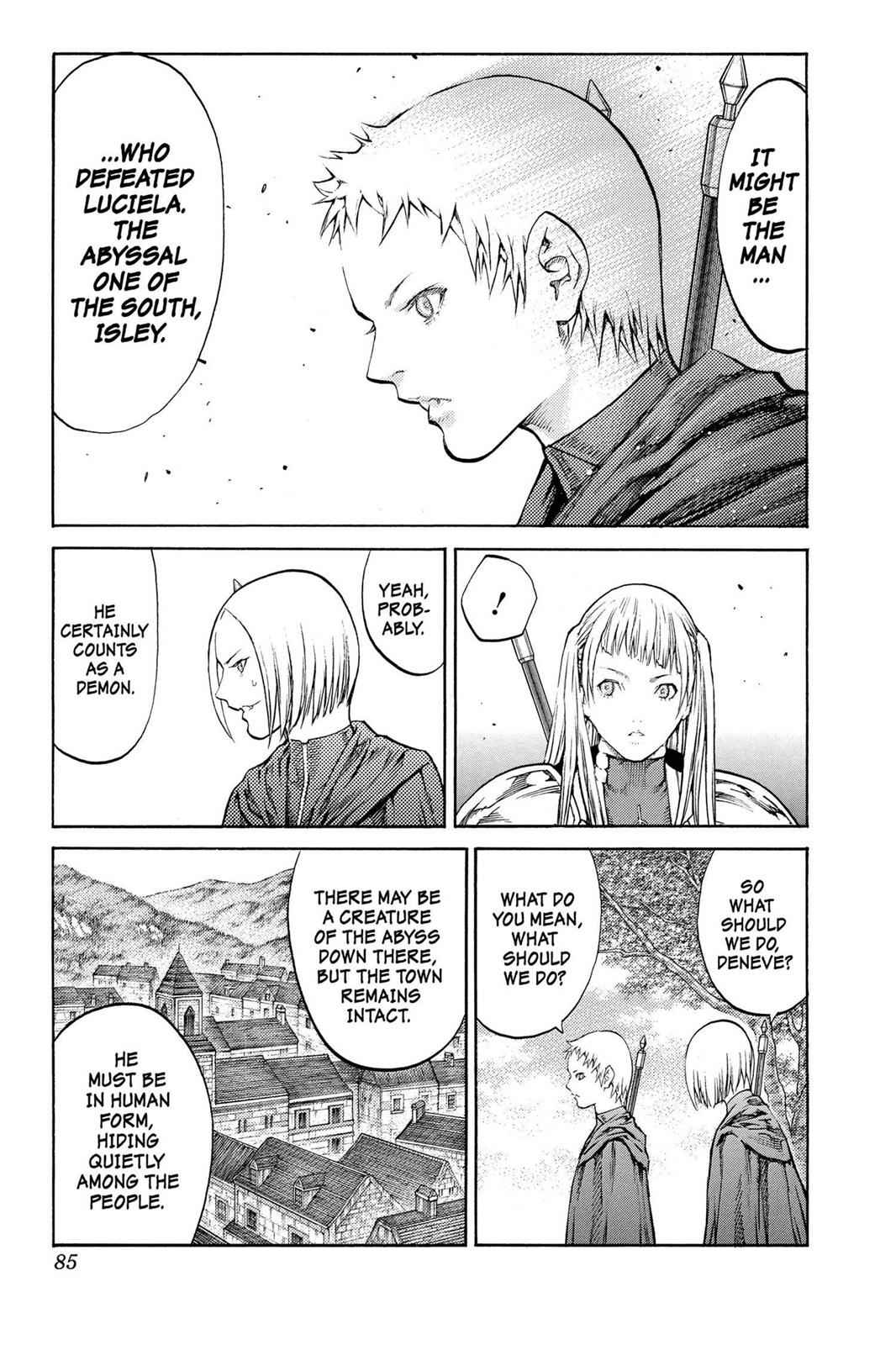 Claymore Chapter 86 Page 15