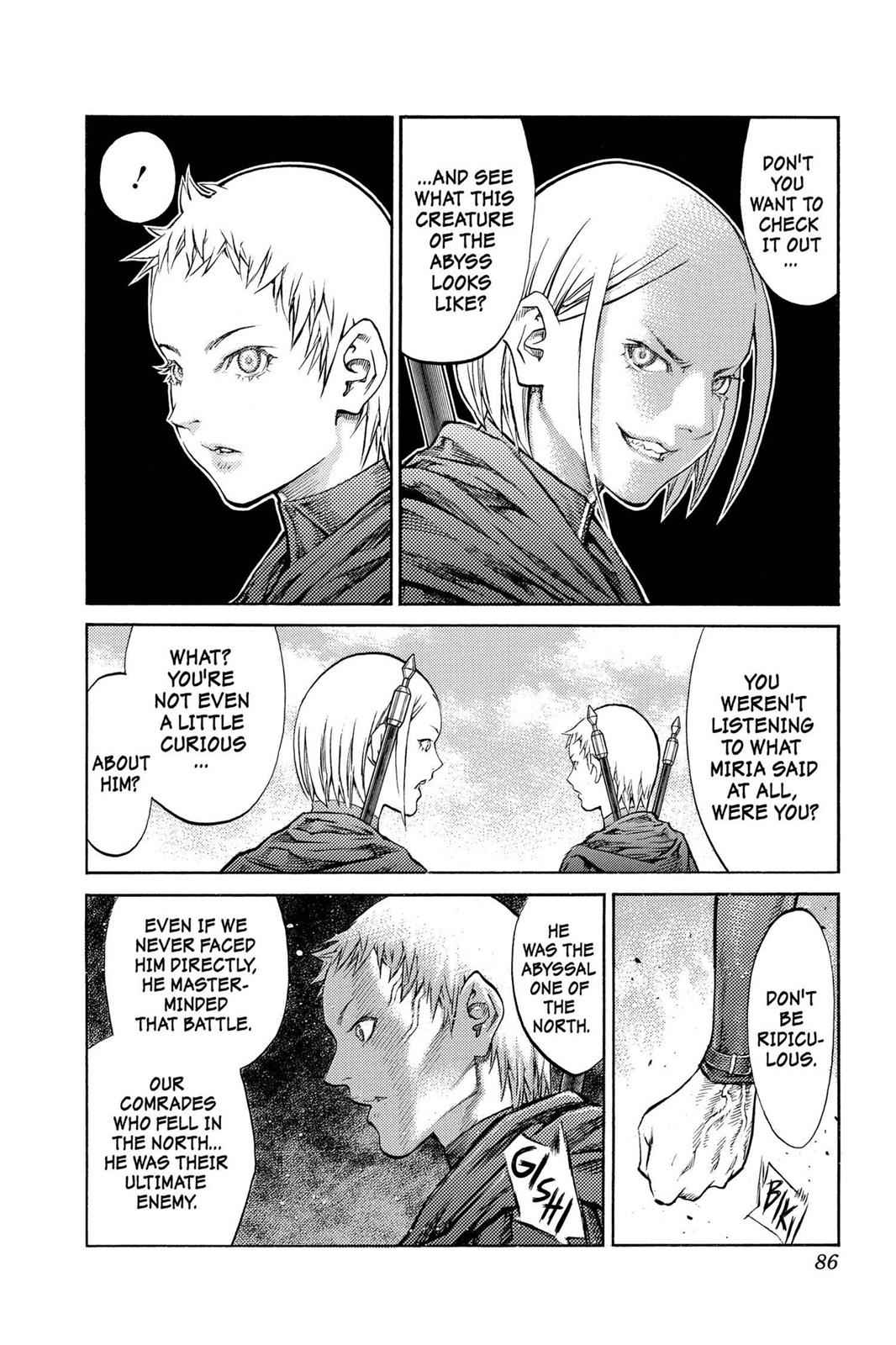 Claymore Chapter 86 Page 16