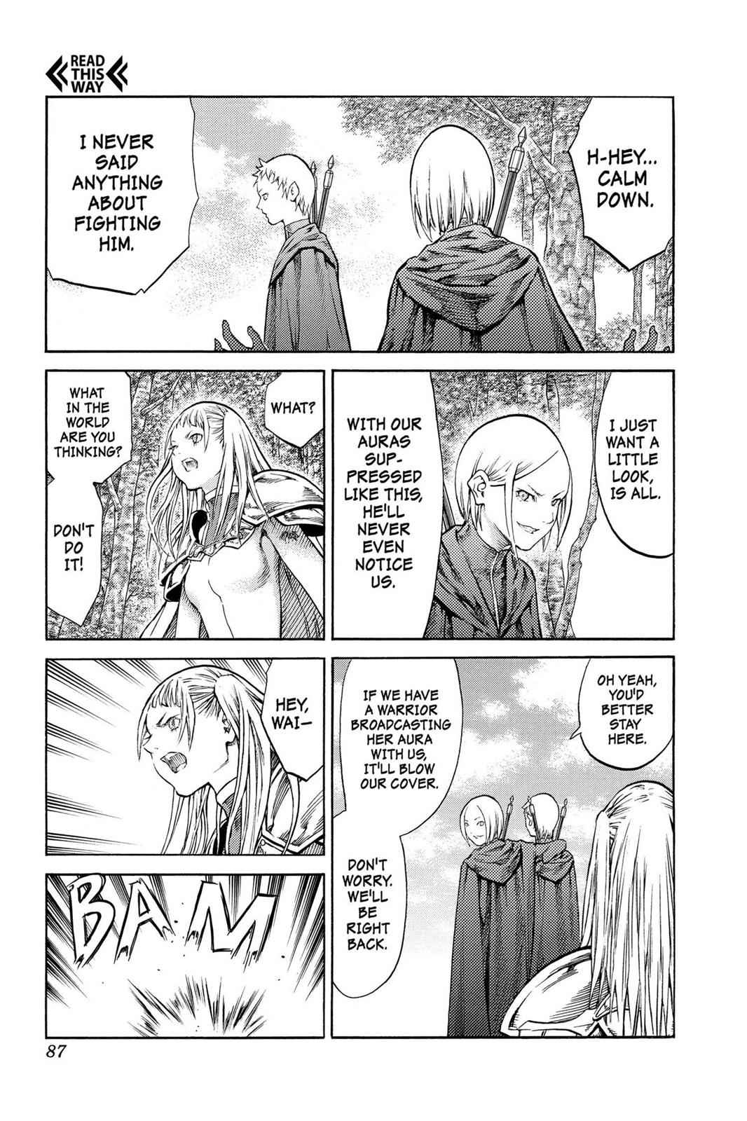 Claymore Chapter 86 Page 17