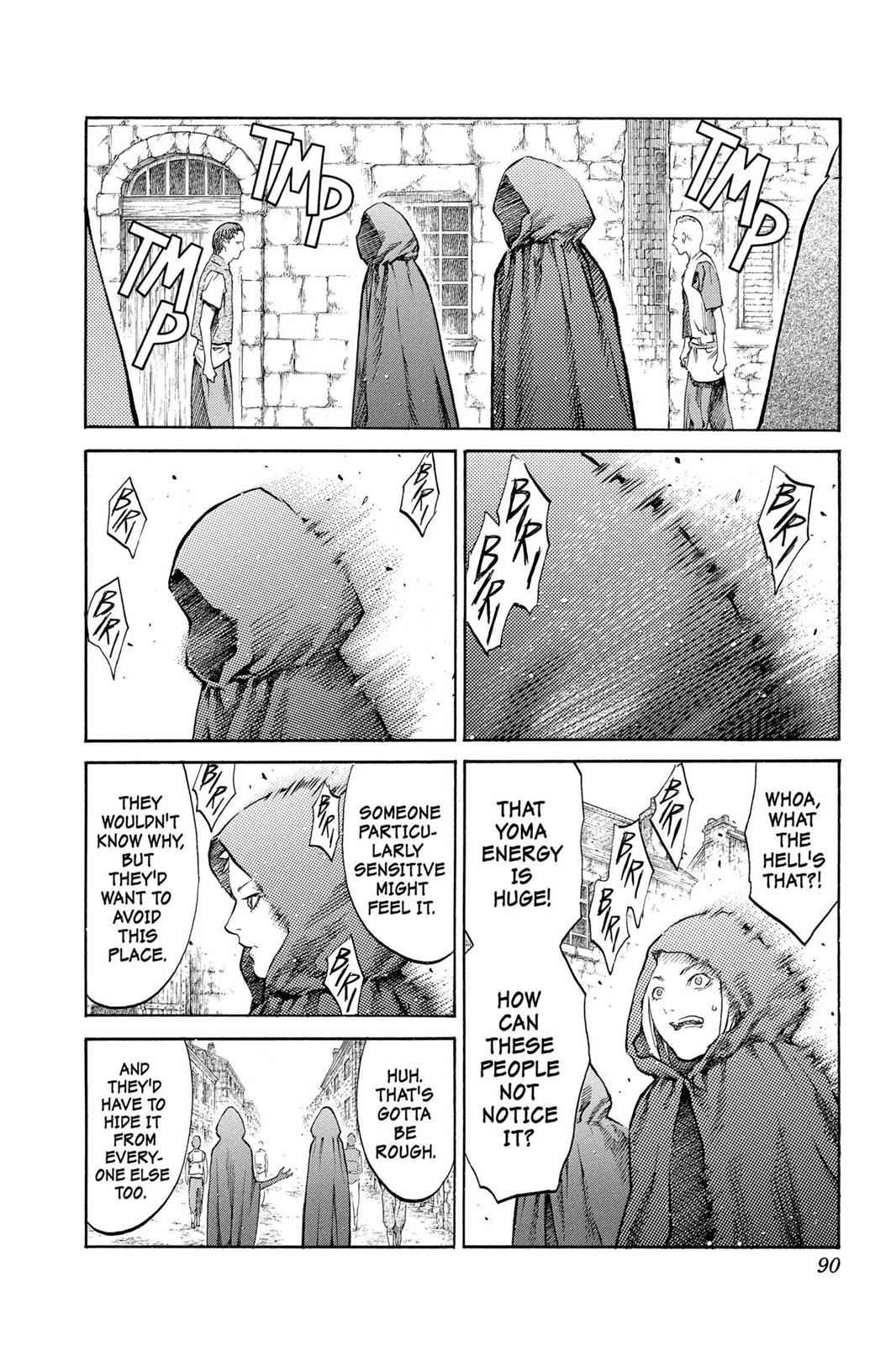 Claymore Chapter 86 Page 20