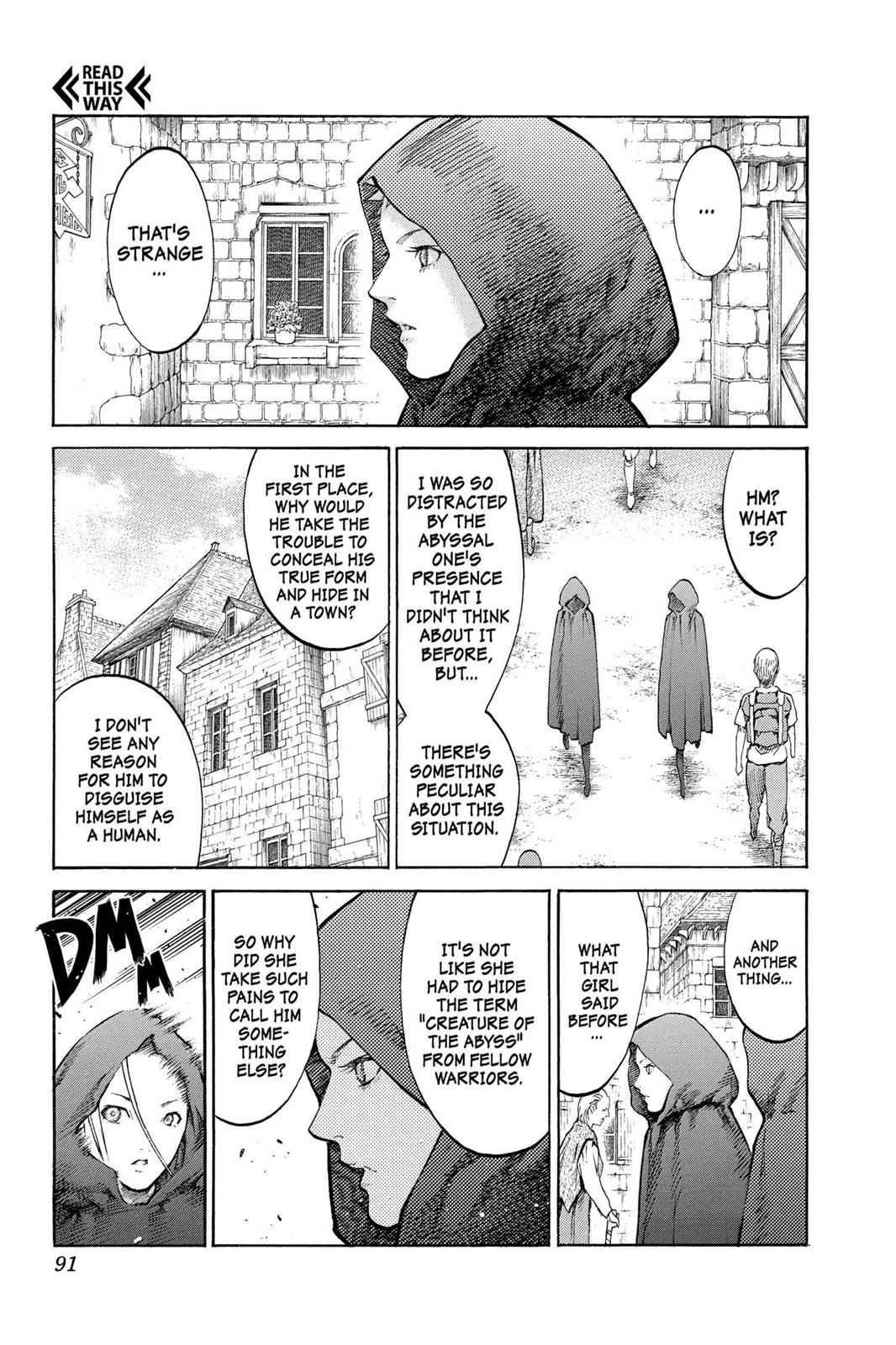 Claymore Chapter 86 Page 21