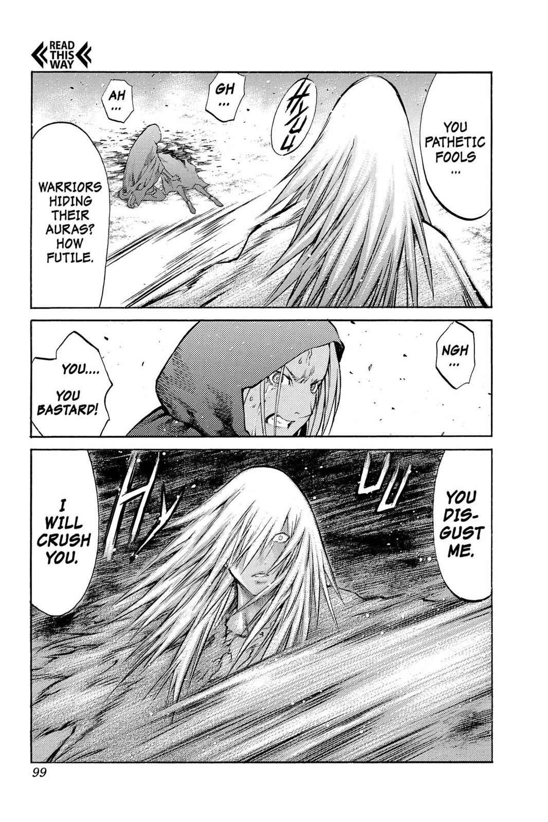 Claymore Chapter 86 Page 28