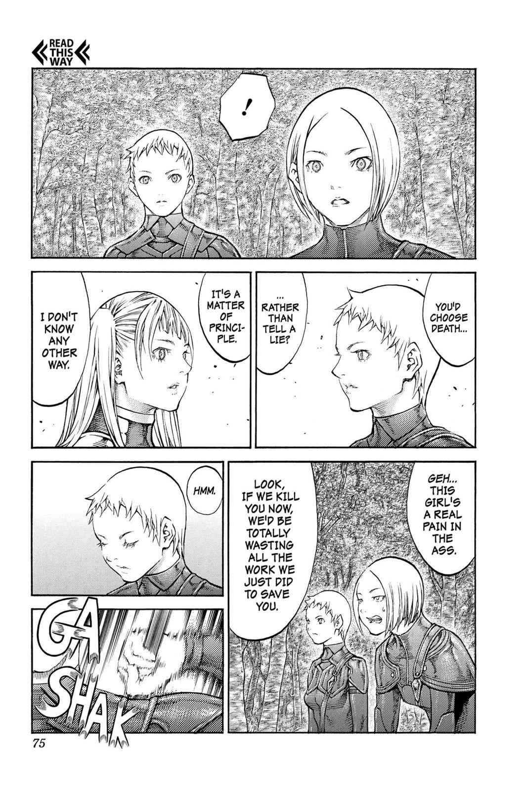 Claymore Chapter 86 Page 5