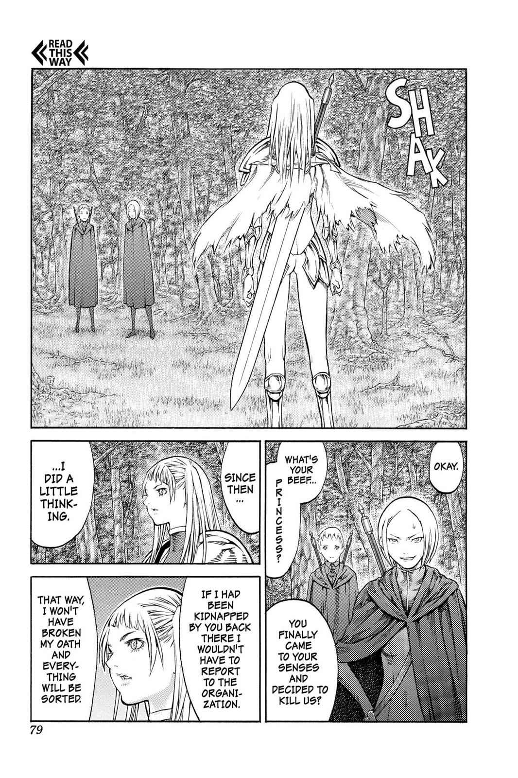 Claymore Chapter 86 Page 9
