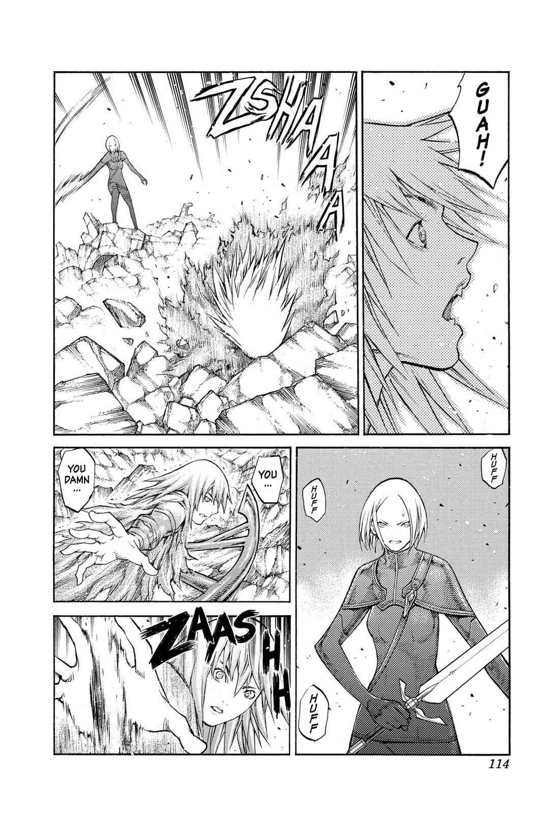 Claymore Chapter 87 Page 11