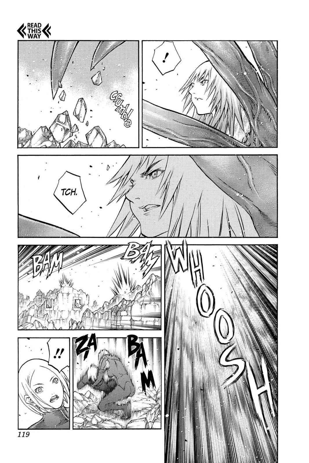 Claymore Chapter 87 Page 16
