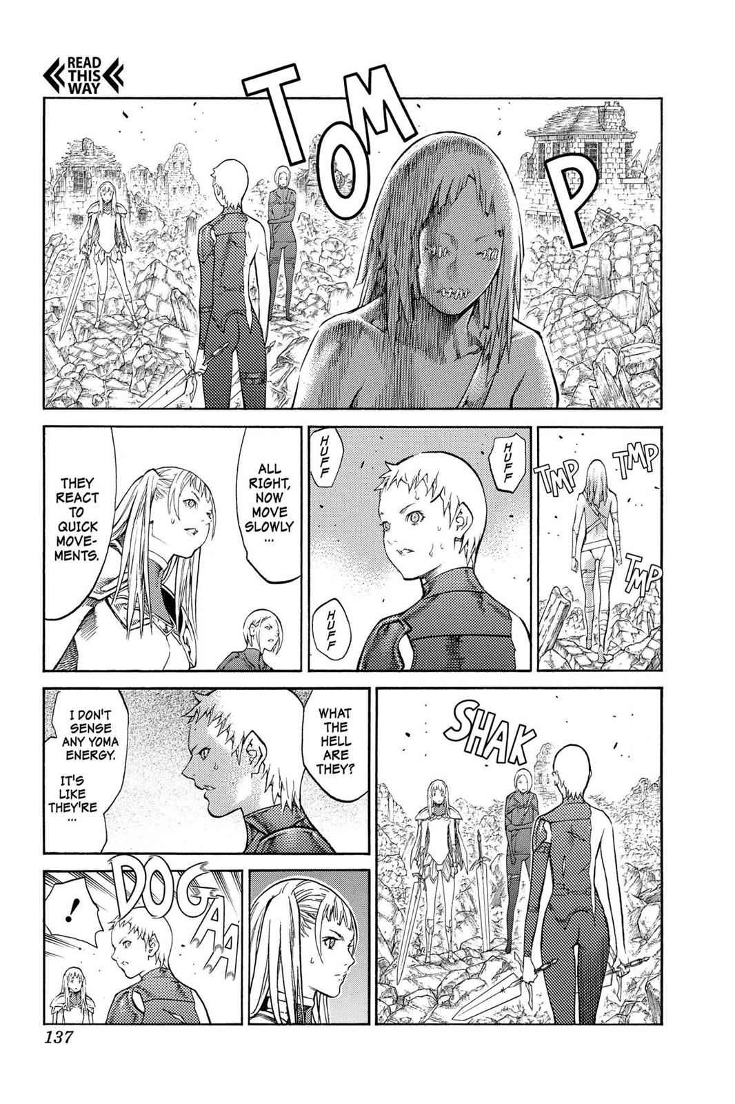 Claymore Chapter 88 Page 10