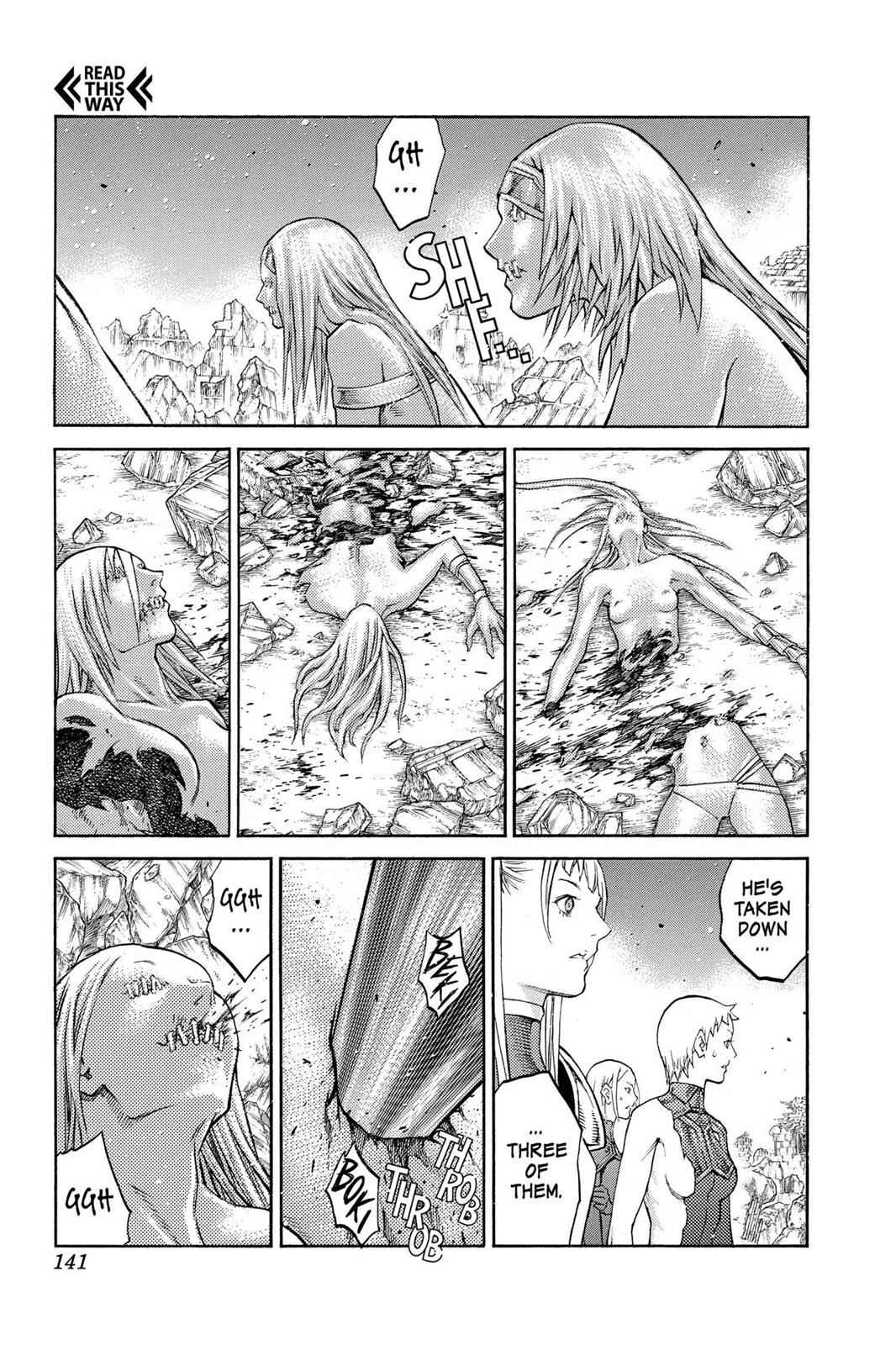 Claymore Chapter 88 Page 13
