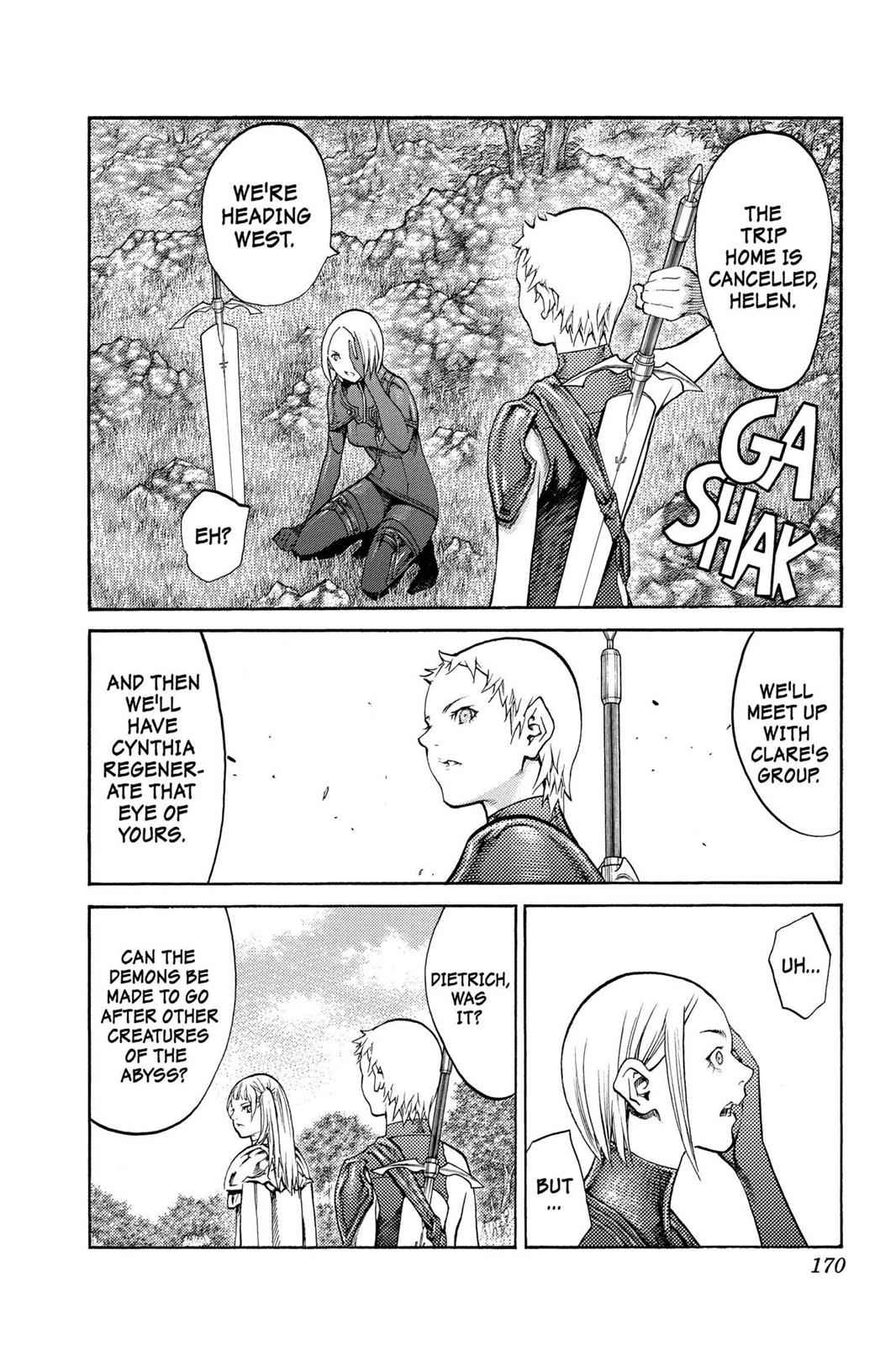 Claymore Chapter 89 Page 12