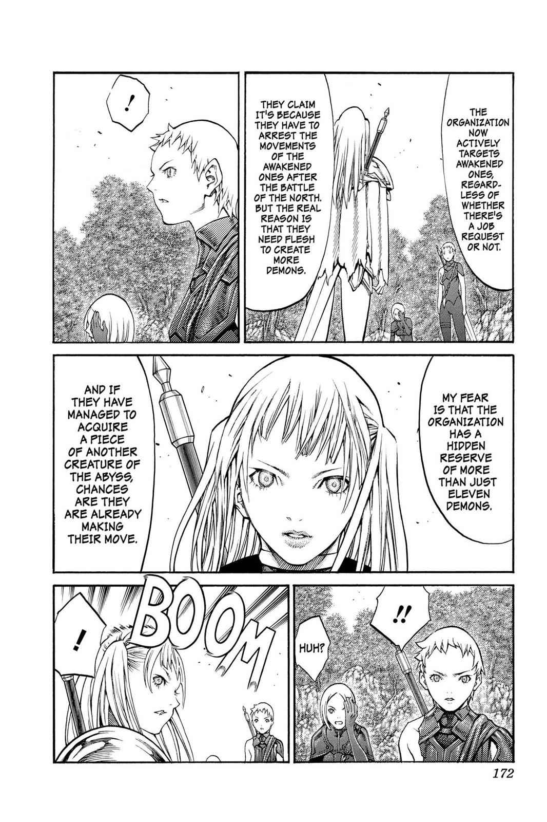 Claymore Chapter 89 Page 14