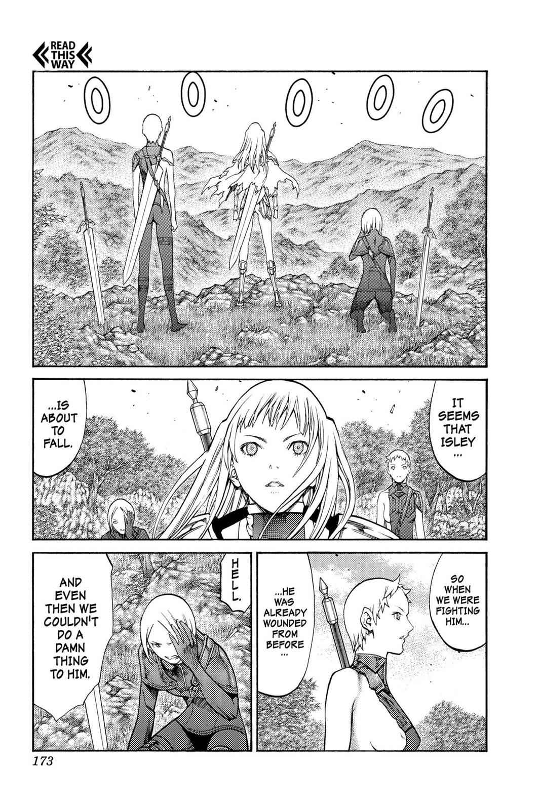 Claymore Chapter 89 Page 15