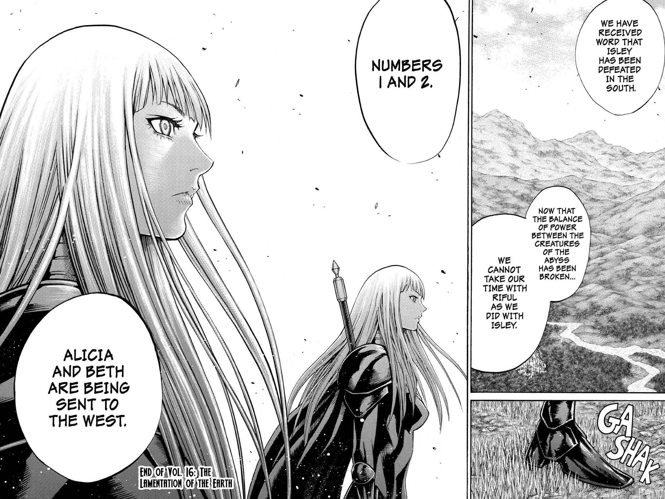 Claymore Chapter 89 Page 28
