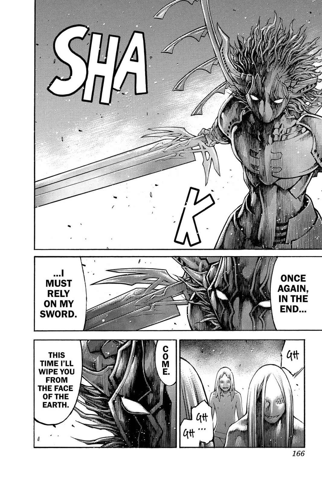 Claymore Chapter 89 Page 8