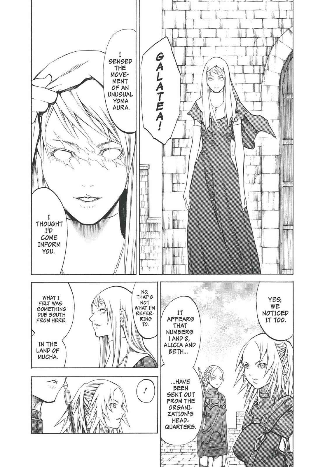 Claymore Chapter 90 Page 10