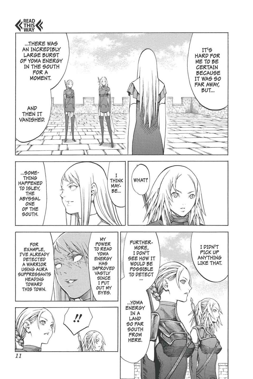 Claymore Chapter 90 Page 11