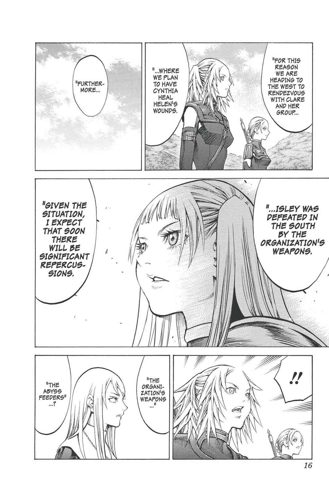 Claymore Chapter 90 Page 16