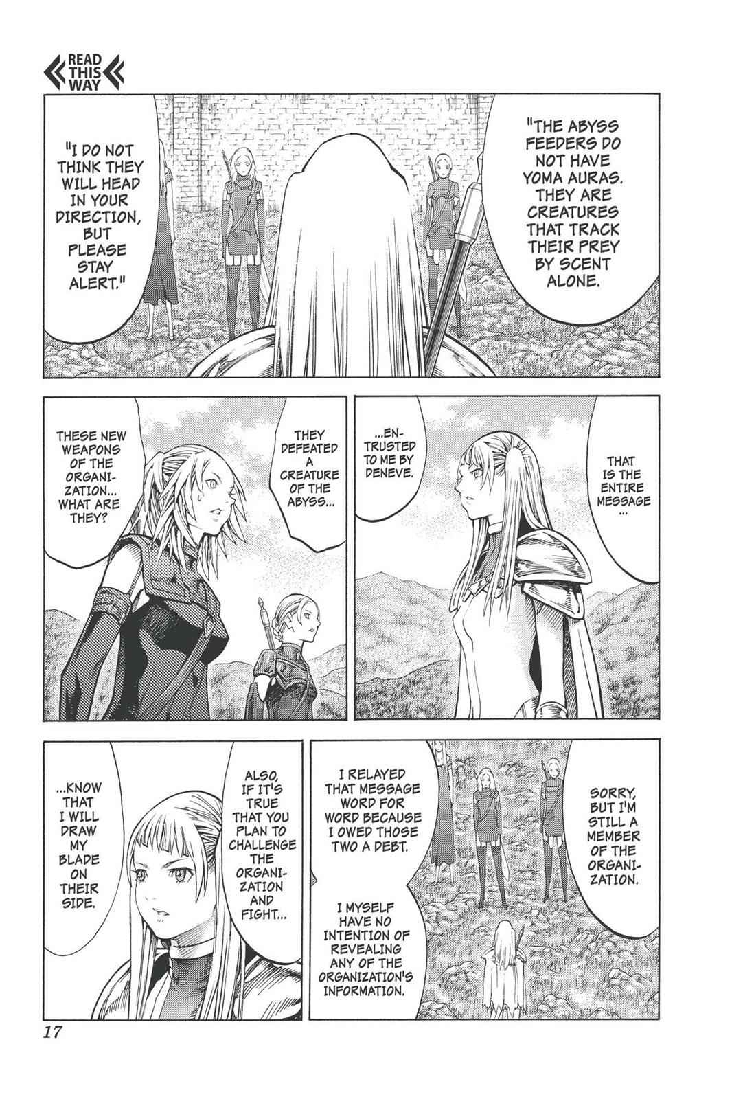 Claymore Chapter 90 Page 17