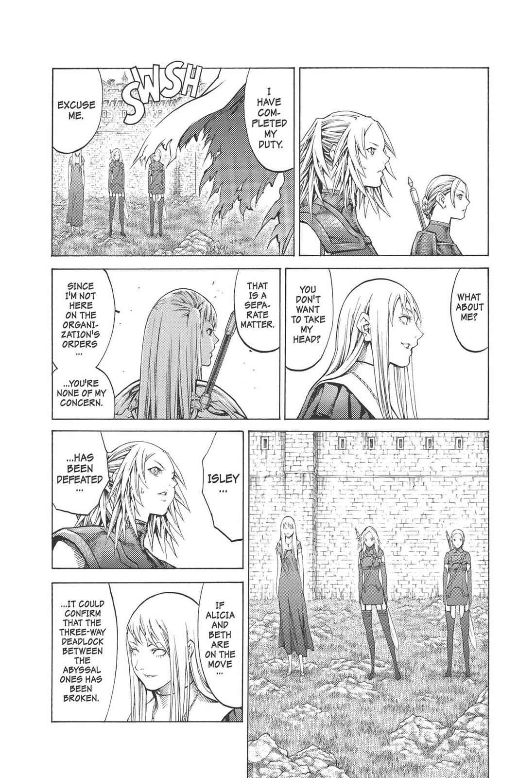 Claymore Chapter 90 Page 18