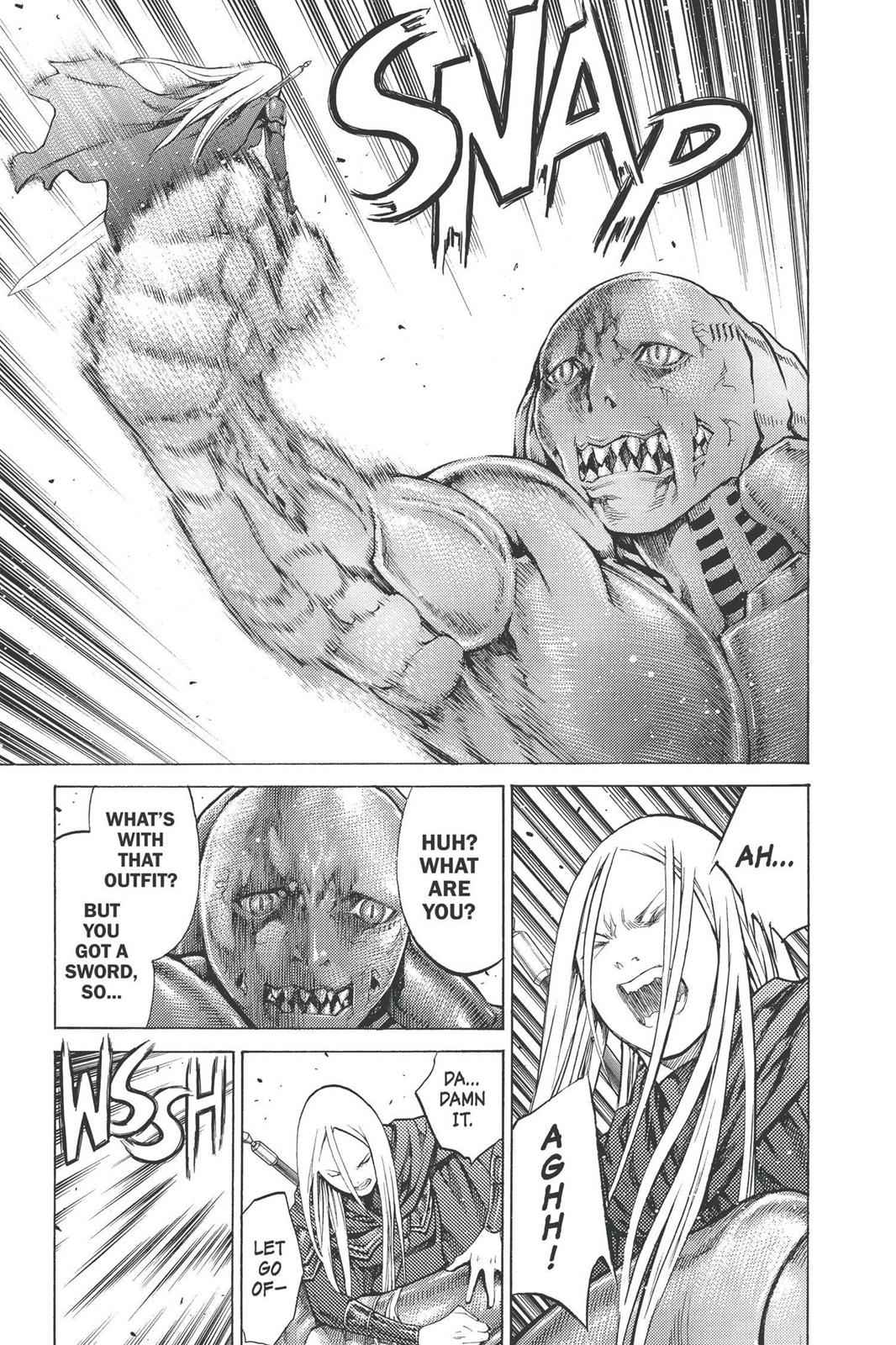 Claymore Chapter 90 Page 25