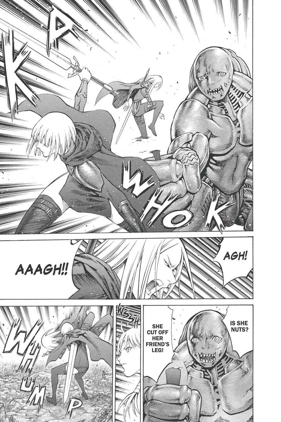 Claymore Chapter 90 Page 31