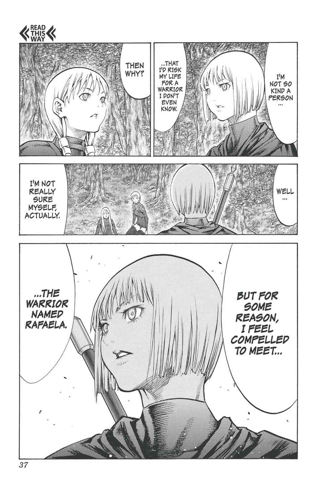 Claymore Chapter 90 Page 37