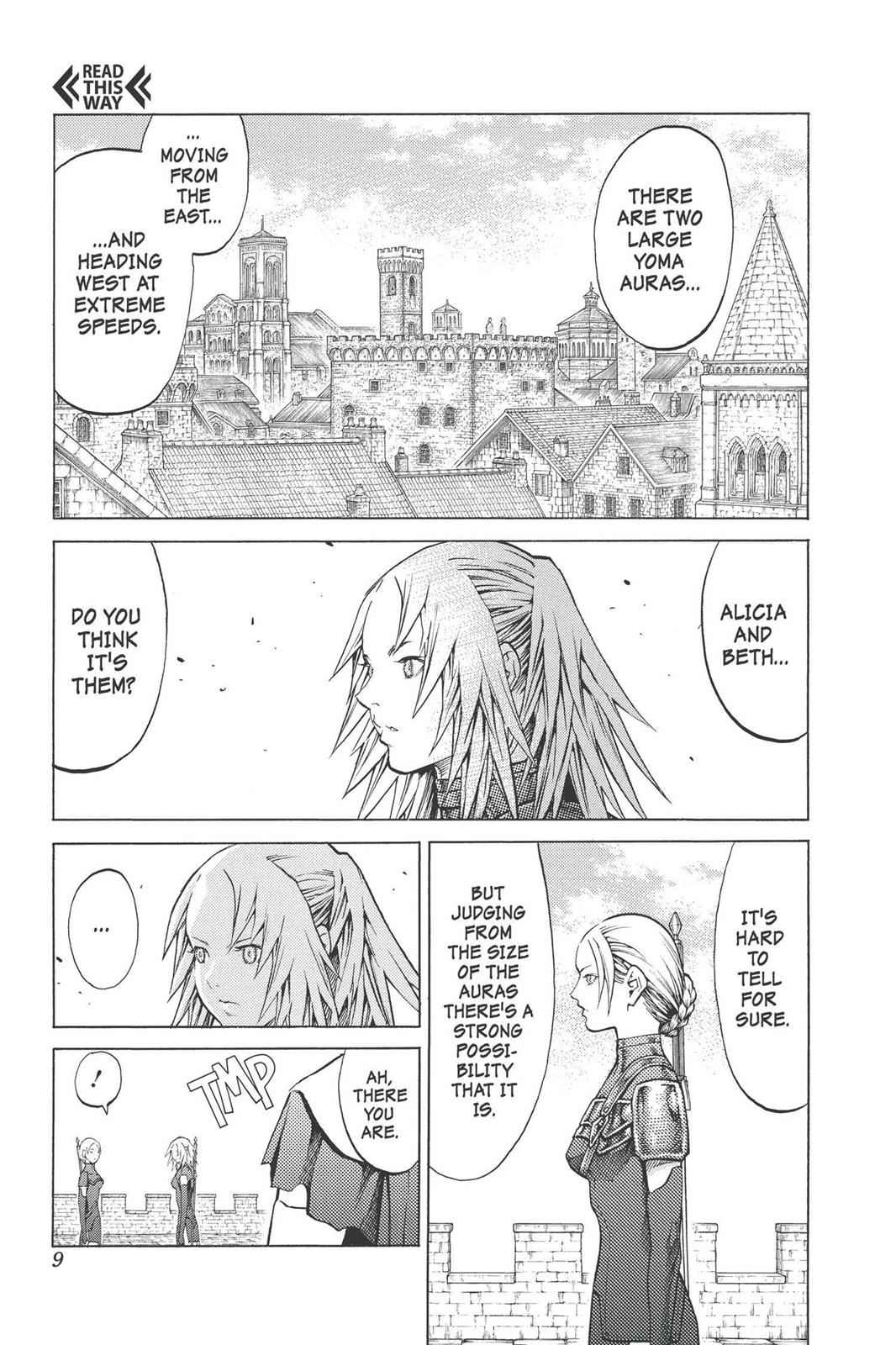 Claymore Chapter 90 Page 9