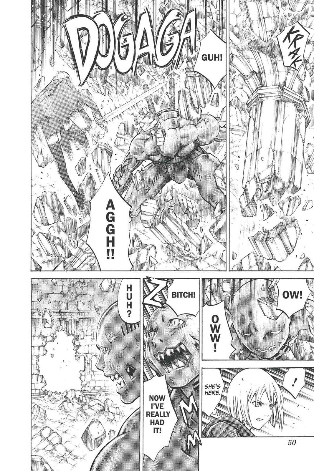 Claymore Chapter 91 Page 12