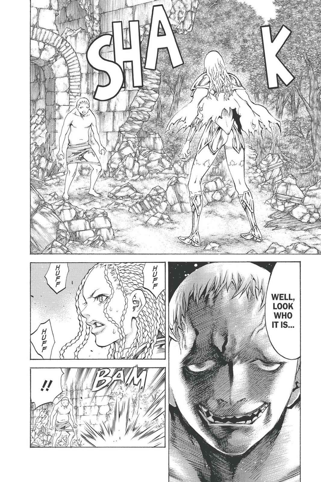 Claymore Chapter 91 Page 19