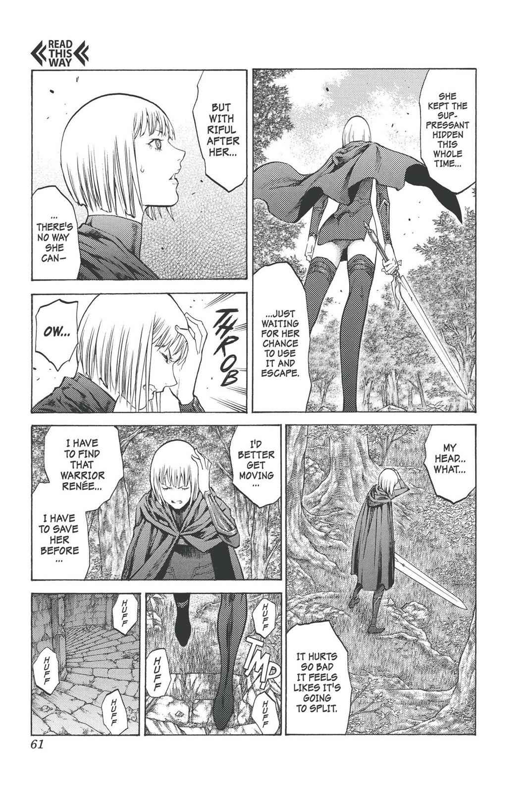 Claymore Chapter 91 Page 22