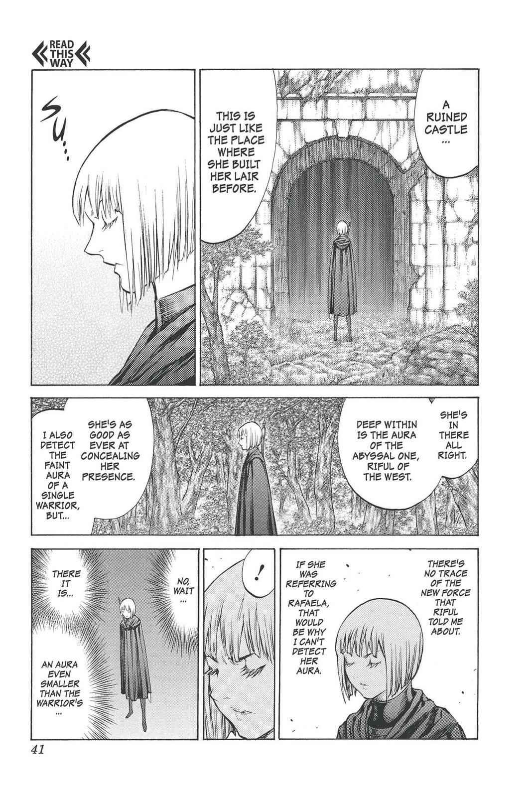 Claymore Chapter 91 Page 3
