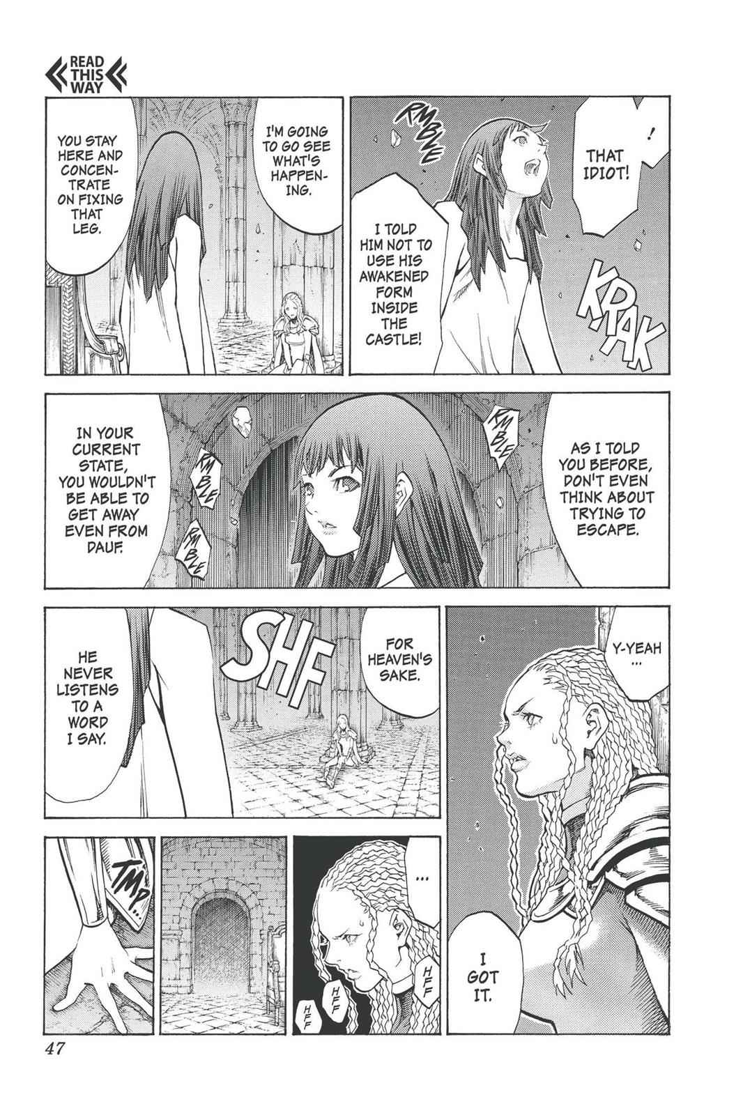 Claymore Chapter 91 Page 9