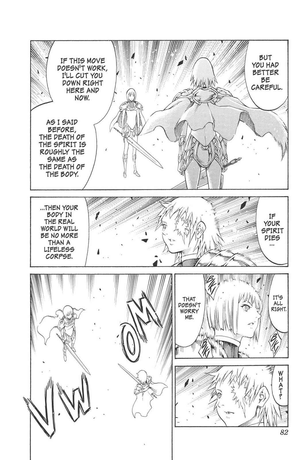 Claymore Chapter 92 Page 18