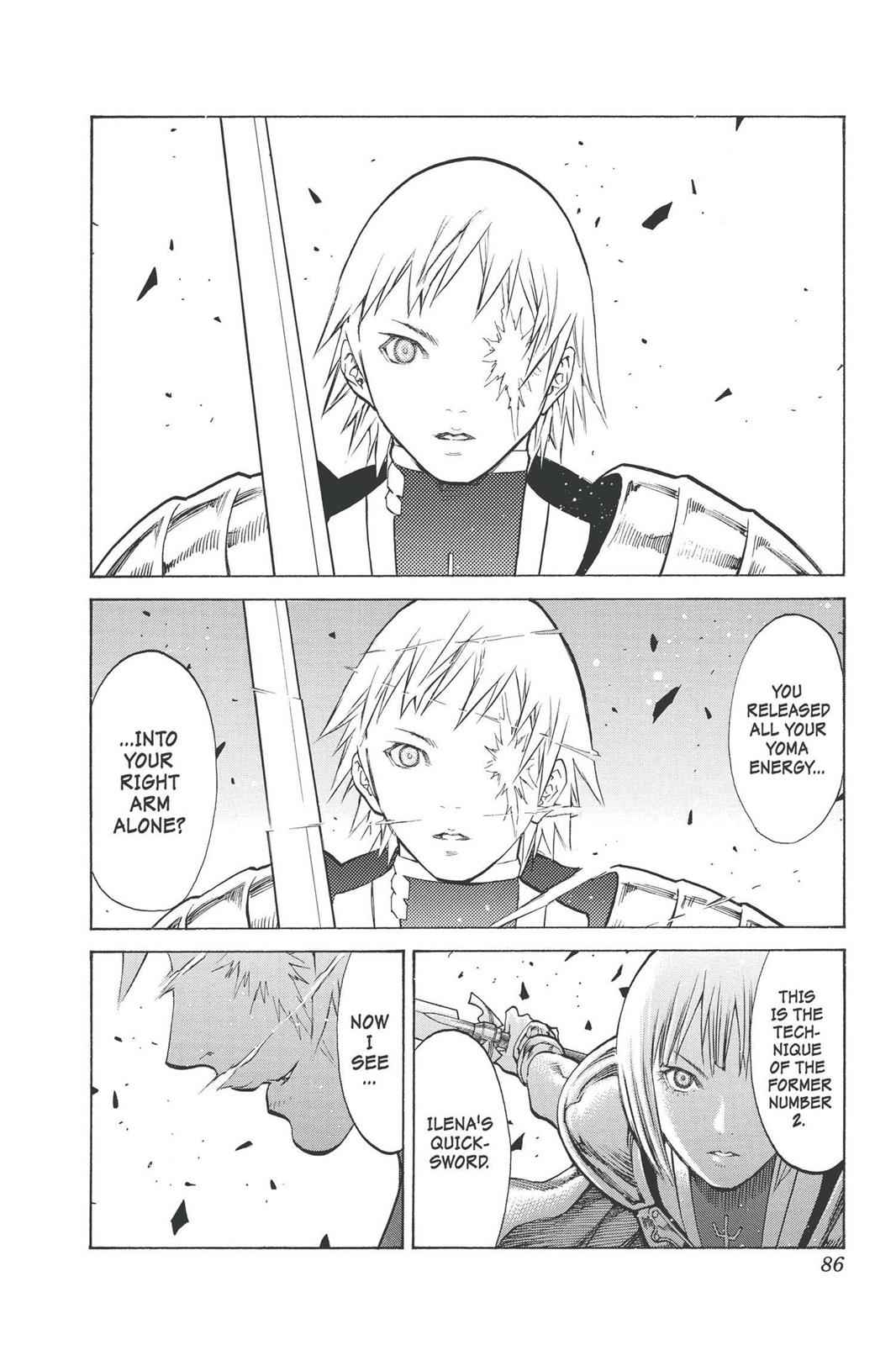 Claymore Chapter 92 Page 21