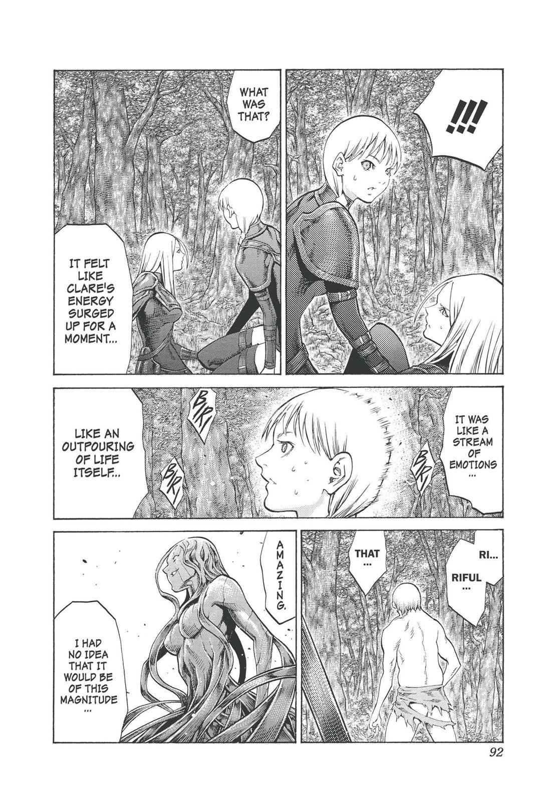 Claymore Chapter 92 Page 26