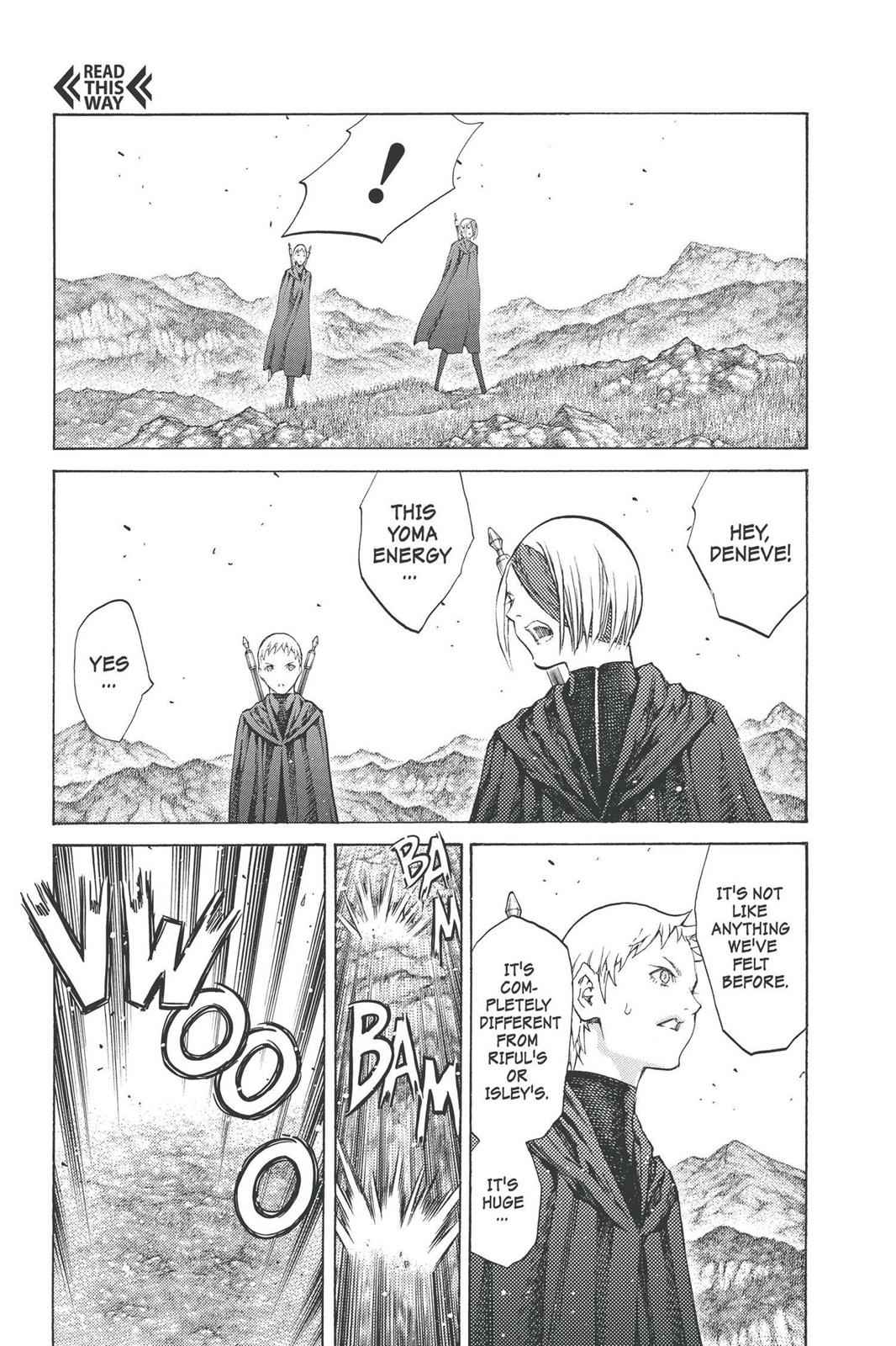 Claymore Chapter 92 Page 27