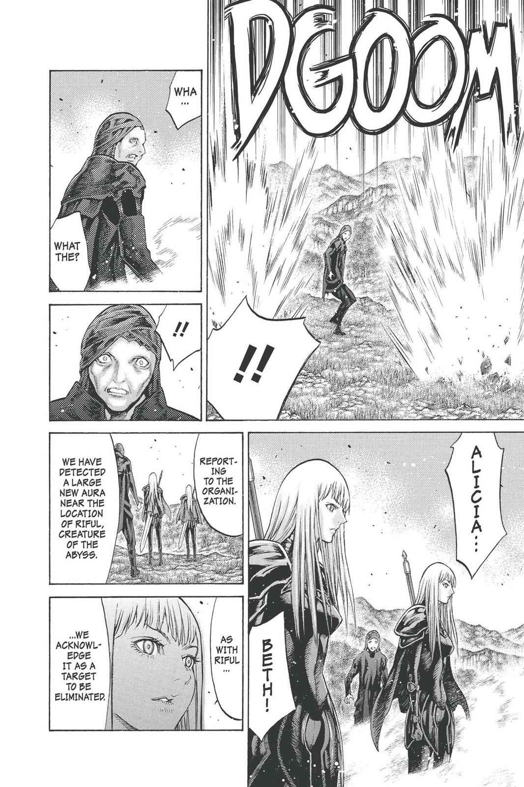 Claymore Chapter 92 Page 28