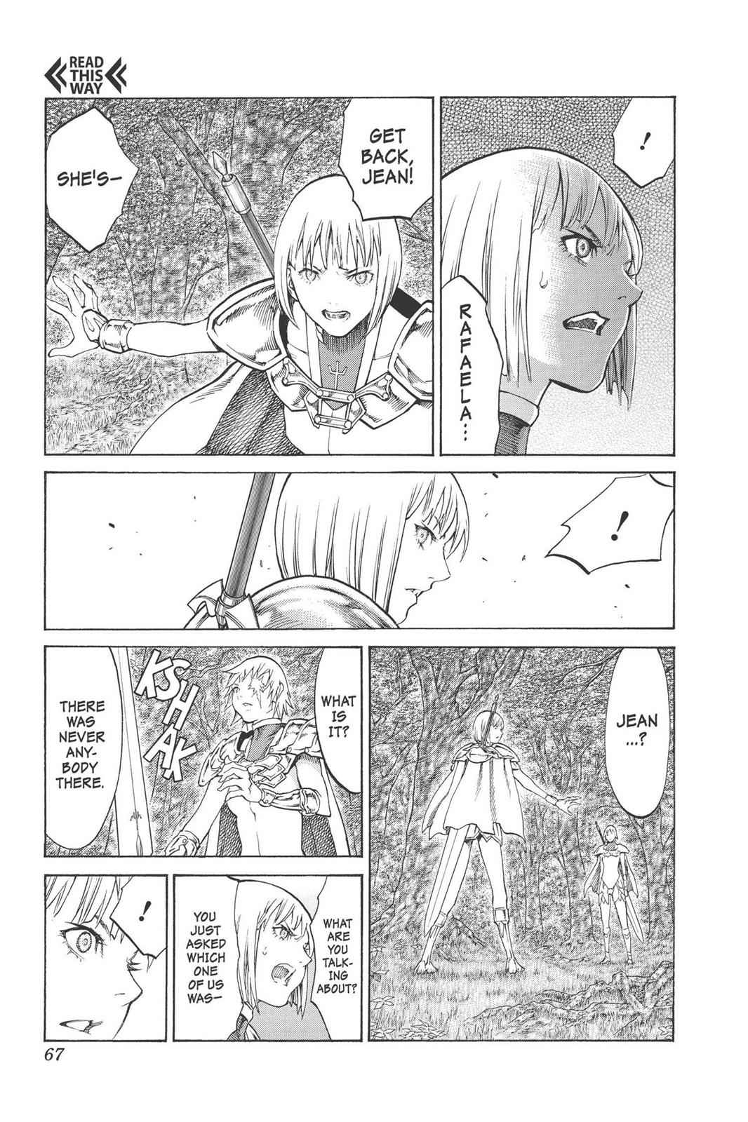 Claymore Chapter 92 Page 3