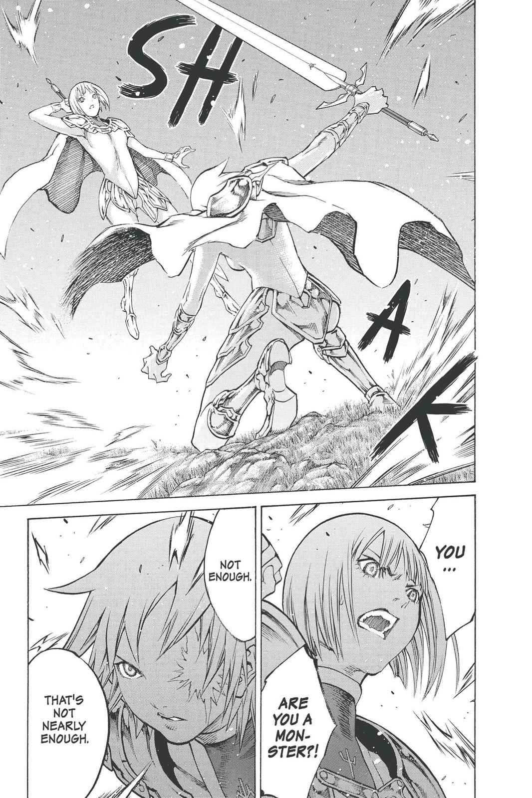 Claymore Chapter 92 Page 9
