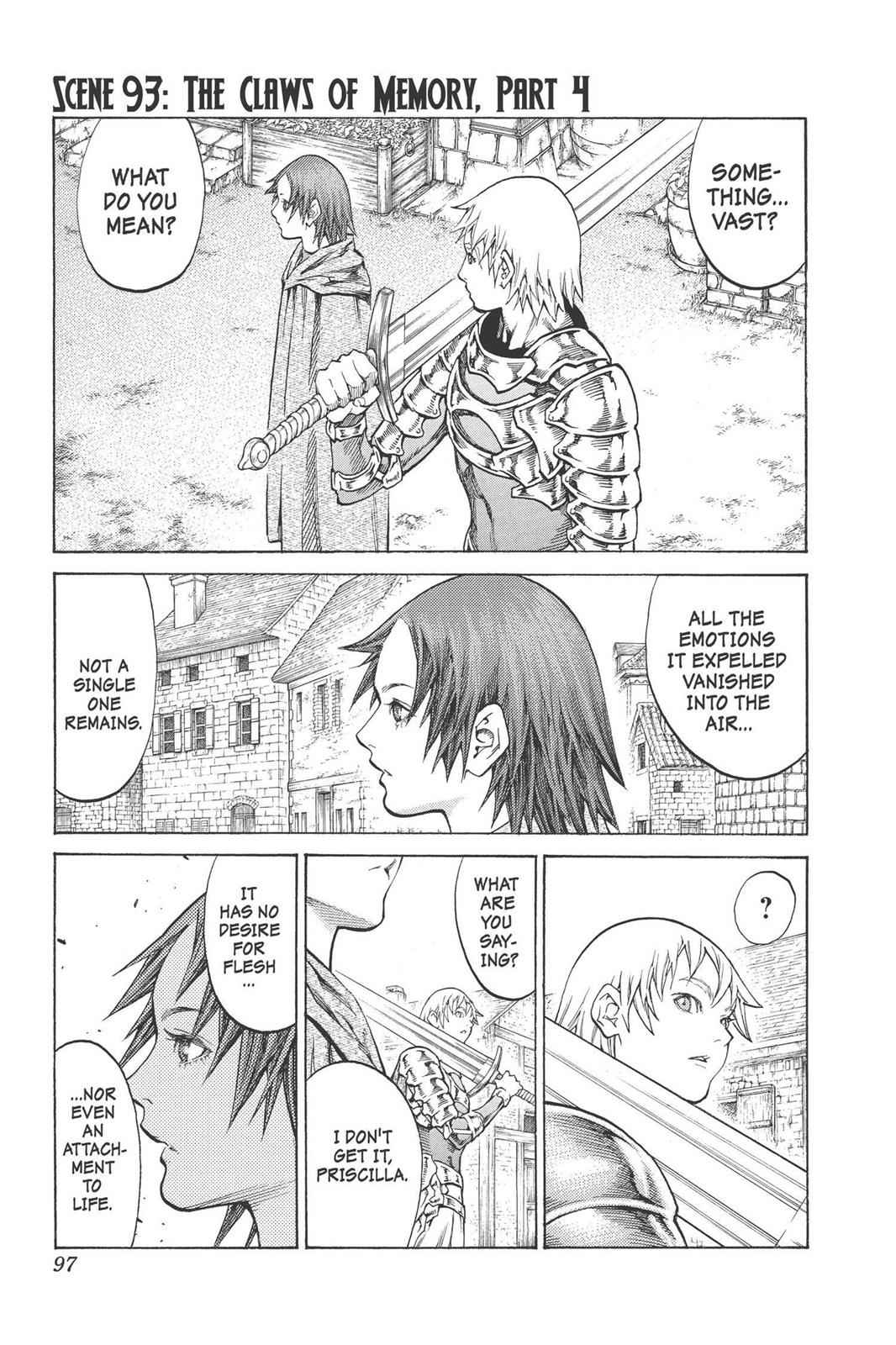 Claymore Chapter 93 Page 1