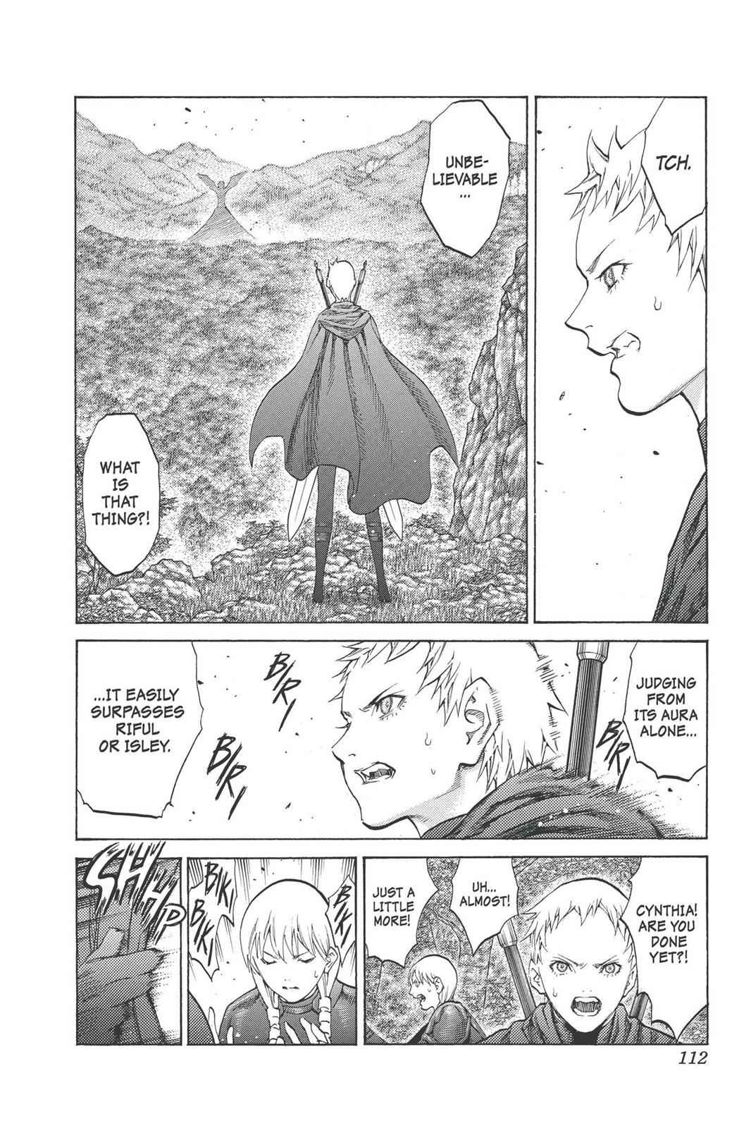 Claymore Chapter 93 Page 14