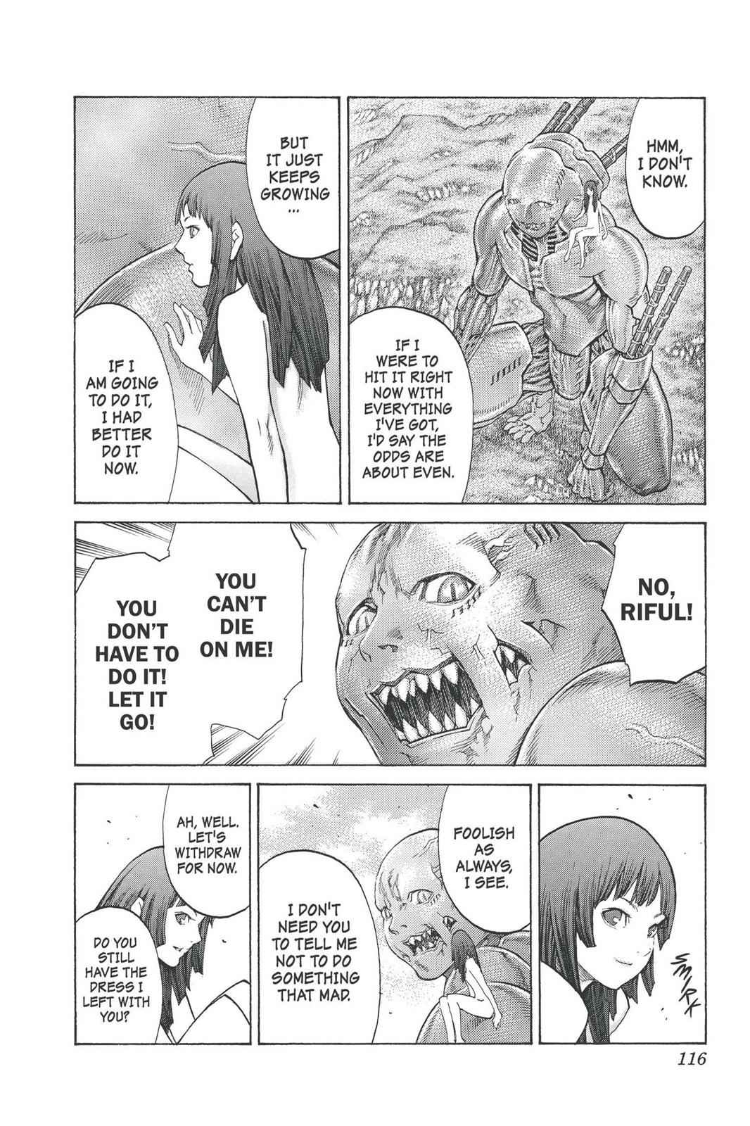 Claymore Chapter 93 Page 18